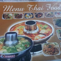 Photo taken at Nine Thai Restaurant by Jesen K. on 2/7/2012