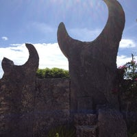 Photo taken at Coral Castle by Valentina F. on 7/13/2012