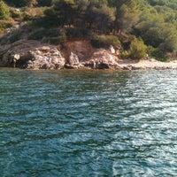 Photo taken at Spiaggia Bagnaia by Letizia G. on 8/24/2012