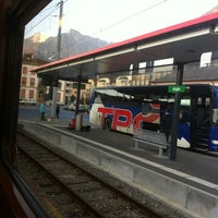Photo taken at Gare d'Aigle by Dasha V. on 3/10/2012