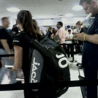 Photo taken at Terminal C Security Checkpoint by Jamie S. on 11/14/2011