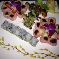 Photo taken at UMI Japanese Steakhouse & Sushi Bar by Jenn W. on 5/7/2012