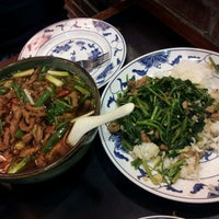 Photo taken at Taiwanese Specialties 老華西街台菜館 by Dee D. on 10/16/2011