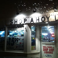 Photo taken at Shop Ahoy Liquor Store by Lisa D. on 6/18/2011