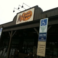 Photo taken at Cracker Barrel Old Country Store by Gloria B. on 1/27/2012
