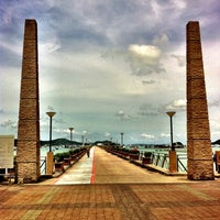 Photo taken at Chalong Bay Pier by Patpong L. on 5/2/2011