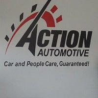 Das Foto wurde bei Action Automotive von Kaylynne am 5/7/2012 aufgenommen