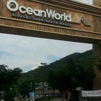 Photo taken at Ocean World by Jenney K. on 8/26/2012