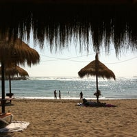 Photo taken at Tuto Beach by iavaria on 4/6/2012