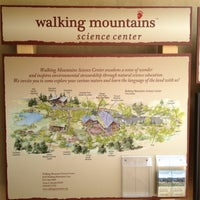 Photo taken at Walking Mountains Science Center by Dale B. on 8/16/2012