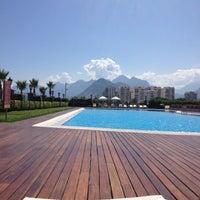 Photo taken at Crowne Plaza Antalya by Saliha O. on 6/2/2012