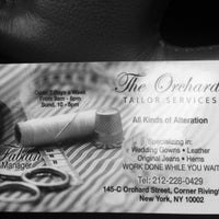 Photo taken at Orchard Tailor Services by Pres G. on 5/22/2012