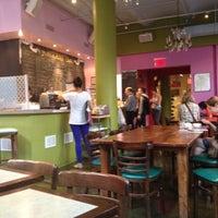 Photo taken at Jivamuktea Café by Genevieve A. on 4/15/2012