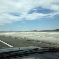 Photo taken at Bonneville Salt Flats by Ted S. on 7/16/2012