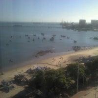 Photo taken at Vela e Mar Hotel Fortaleza by Rafael G. on 7/31/2012