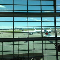Photo taken at Calgary International Airport (YYC) by Beto L. on 7/21/2012