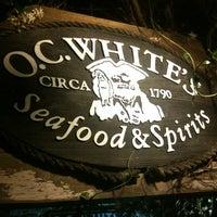 Photo taken at O.C. White's by Chris B. on 5/12/2012
