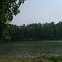 Photo taken at Озеро на Юбилейке by Екатерина К. on 7/15/2012