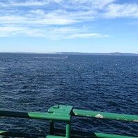 Photo taken at Edmonds-Kingston Ferry by Venetta J. on 8/25/2012