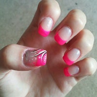 Photo taken at Luxe Nails by Kasie S. on 7/17/2012