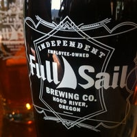Photo taken at Full Sail Brewing Co. by Connie on 4/16/2012