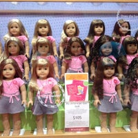 Photo taken at American Girl Place by Maria S. on 7/13/2012