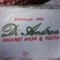 4/6/2012 tarihinde Fernando Souza P.ziyaretçi tarafından Di Andrea Gourmet Pizza & Pasta'de çekilen fotoğraf