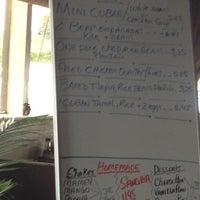 Photo taken at Tino's Cuban Bistro by Adam J. on 5/16/2012