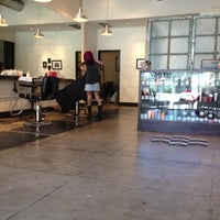 Photo taken at The Hive Salon by Mark Y. on 8/2/2012