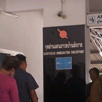 Photo taken at Banpakkad Immigration Checkpoint by Montri S. on 3/30/2012