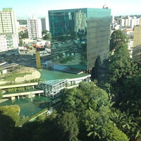 Photo taken at Itaú Unibanco Centro Empresarial by Luciano L. on 2/16/2012