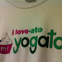 Photo taken at Mr. Yogato by Kasia P. on 6/15/2012