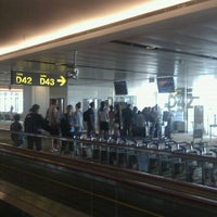 Photo taken at Gate D42 by Muhd Ali on 1/4/2012