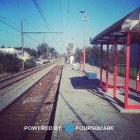 Photo taken at Gare de Bierges-Walibi by Cédric H. on 10/29/2011