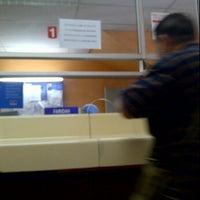 Photo taken at Pos Malaysia by Meya U. on 12/30/2011
