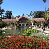 Photo taken at Botanical Building & Lily Pond by Bryan C. on 6/18/2012
