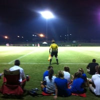 Photo taken at Morgan Brothers Soccer Field by Robert C. on 9/3/2011