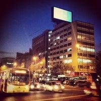Photo taken at Metro Baquedano by Richie P. on 5/4/2012