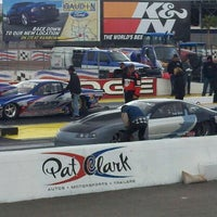 Foto tirada no(a) The Strip at Las Vegas Motor Speedway por Ryan M. em 11/6/2011