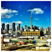 Photo taken at Billy Bishop Toronto City Airport (YTZ) by Lee H. on 8/21/2012