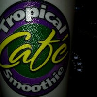 Photo taken at Tropical Smoothie Cafe by Pamela R. on 10/30/2011