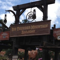 Photo taken at Big Thunder Mountain Railroad by Tyler T. on 6/27/2012