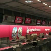 Photo taken at Air Berlin Check-In by Oleg K. on 1/15/2012