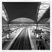 Photo taken at Leuven Railway Station by Elodie O. on 1/23/2012