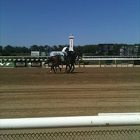 Photo taken at Belmont Park Racetrack by J Lincoln H. on 5/19/2012