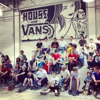 Photo taken at House of Vans by Katie on 5/19/2012
