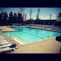Photo taken at Bloomfield Open Hut Club Aquatics Center by Alexa Joy B. on 5/15/2012
