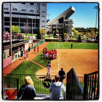 Photo taken at Tech Softball Park by Jim H. on 4/7/2012