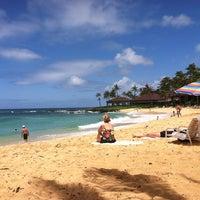Foto tomada en Poipu Beach por David B. el 6/11/2011
