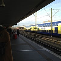 Photo taken at Gleis 3/4 by Charleen A. on 12/11/2011